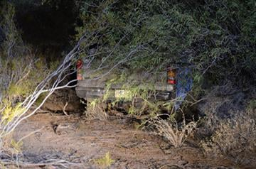A truckload of marijuana was found underneath a palo verde tree in Mobile. By Jennifer Thomas