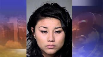 Jessica Lopez-Barahona, 19, is facing a charge of disorderly conduct By Mike Gertzman