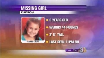 Isabel Mercedes Celis was last seen Friday night. By Jennifer Thomas