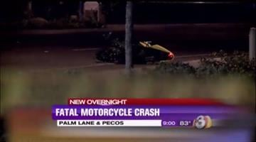 A motorcyclist was killed in a crash in Chandler. By Jennifer Thomas