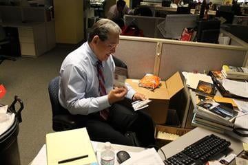 After 28 years in the KTVK newsroom, the veteran reporter and news anchor is taking the next step in his career, becoming the chief if communications for the Arizona Democratic Party. By Mike Gertzman