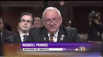 Russell Pearce, former state senator and author of Senate Bill 1070, defends the immigration law. By Jennifer Thomas