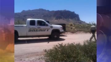 A woman died after falling approximately 50 feet while hiking on the Massacre Grounds Trail near Lost Dutchman State Park. By Jennifer Thomas