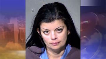 Maria Aparicio was booked into jail for aggravated assault. By Jennifer Thomas