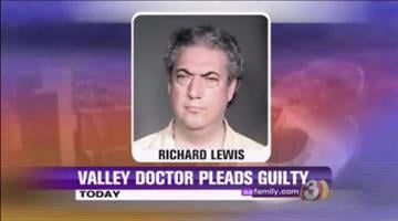Dr. Richard Jay Lewis entered a guilty plea Thursday to 18 counts of aggravated assault. Lewis is due back in court on June 14 to be sentenced. By Andrew Michalscheck