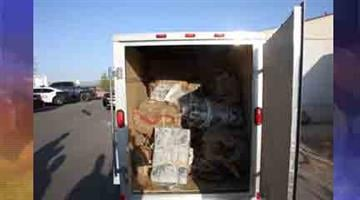 1,333 pounds of marijuana were found in a trailer during operation Eagle Talon. By Andrew Michalscheck