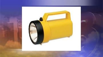 This type of flashlight was used in both incidents. By Jennifer Thomas