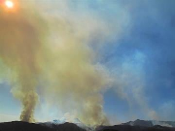 The Sunflower Fire on the Tonto National Forest near Payson was 4,600 acres and five-percent contained as of 6:30 a.m. Tuesday