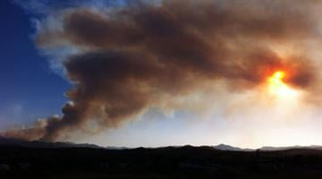 Gladiator Fire near Crown King, Ariz. on Tuesday, May 15, 2012 By Mike Gertzman