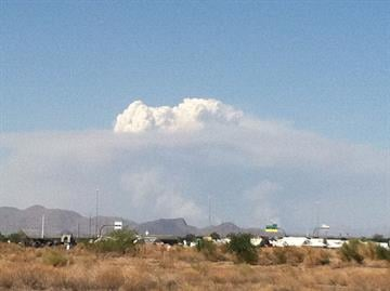 Gladiator Fire on Tuesday, May 15, 2012 By Mike Gertzman