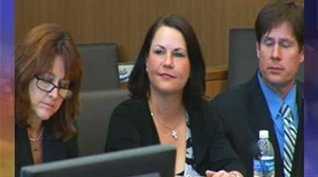 Tammi Smith in court on Thursday as the guilty verdicts were read in her trial By Mike Gertzman