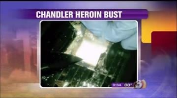 Cocaine was seized in the drug bust By Jennifer Thomas