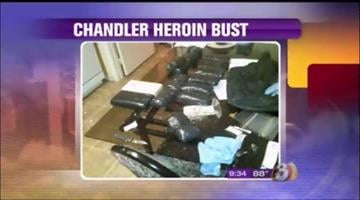 31.6 pounds of black tar heroin and 5.4 pounds of cocaine By Jennifer Thomas