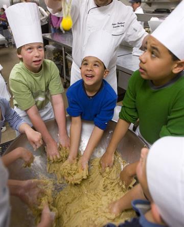 Kids in the kitchen at the Westin Kierland Resort & Spa By Tyson Milanovich