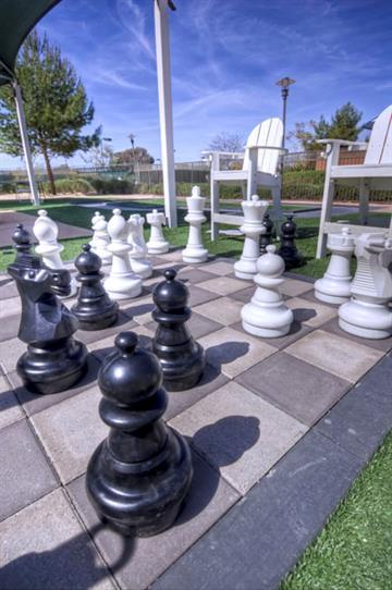 Lawn chess at the Westin Kierland Resort & Spa By Westin Kierland Resort & Spa