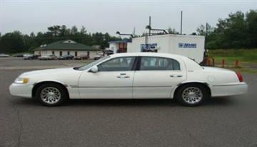 Patrick McLaughlin's 1999 Lincoln Town Car. By Andrew Michalscheck
