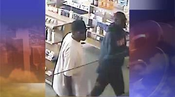 Police said two suspects stole oxycodone from the Express Aid Pharmacy near 23rd Avenue and Bethany Home Road. By Jennifer Thomas
