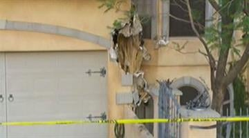 The driver received only minor injuries when a car crashed into a Fountain Hills home. By Jennifer Thomas