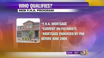 A new program is being offered to help homeowners with FHA loans. By Jennifer Thomas