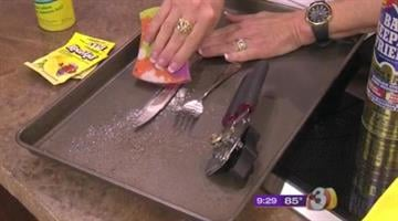 Removing rust stains with Queen of Clean By Jennifer Thomas