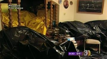 The Tempe Fire Department launched a training program that involved a hoarding simulator. By Jennifer Thomas