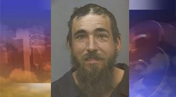 Joel Nuccio, 37, was arrested after he allegedly hit a woman with a bottle of soy sauce. By Andrew Michalscheck