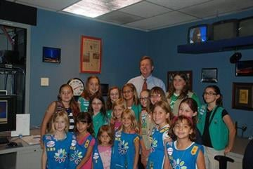 Girl Scout Talk and Tour - July 2012 - Troop 1834 By Christina Duggan