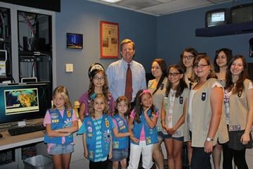 Girl Scout Talk and Tour - July 2012 - Royal Norman By Christina Duggan