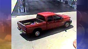 Suspect vehicle By Jennifer Thomas