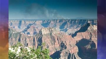 Picture from top of Bright Angel Point Trail on North Rim June 12 By Jennifer Thomas