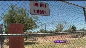 Baseball fields vandalized By Jennifer Thomas