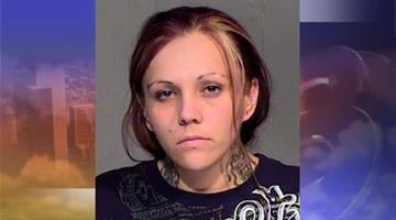 Sarah Martinez, 26, was arrested at a Motel 6 in Phoenix on Wednesday. By Jennifer Thomas