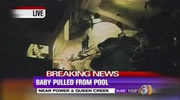 A 1-year-old boy went missing during a family gathering near Power and Queen Creek roads in Gilbert and was found in the pool. By Jennifer Thomas