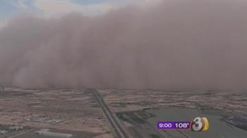Another dust storm has blown through the Phoenix metropolitan area and parts of southern Arizona. By Mike Gertzman