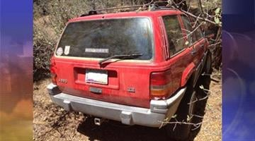 """Yavapai County Sheriff's Office deputies responded to a campground at Lynx Lake after the owner of a Jeep called to say a naked man """"on drugs and out of his mind"""" had stolen his vehicle. By Andrew Michalscheck"""
