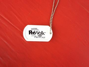 PETSMART Pet's Walk 2012 at Tempe Town Lake. Dog Tag By Christina Duggan