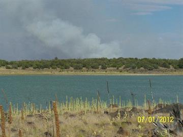 Fire view from Long Lake on July 1 By Jennifer Thomas