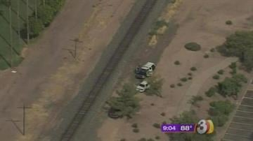 A man died after being hit by a train in Gilbert. By Jennifer Thomas