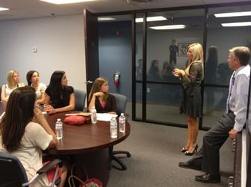 Carey and Fields discuss TV Journalism with ASU students By Christina Duggan