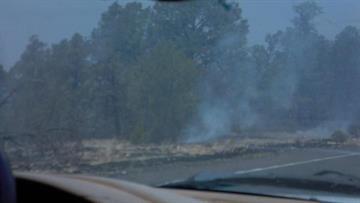 Canyon Fire on July 1 By Jennifer Thomas