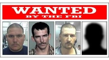 From left to right, Jesus Rosario Favela-Astorga, Ivan Soto-Barraza, Heraclio Osorio-Arellanes, and Lionel Portillo-Meza (photo unavailable) are wanted in connection with the murder of Border Patrol Agent Brian Terry. By Catherine Holland
