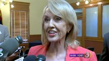 Gov. Jan Brewer By Jennifer Thomas