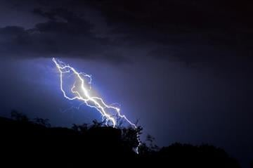 Watched quite a show last night of the thunderstorm passing through AJ. By Catherine Holland
