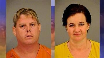 Deanna and John Gaw have been arrested for allegedly stealing from homes in Saddlebrooke. By Andrew Michalscheck