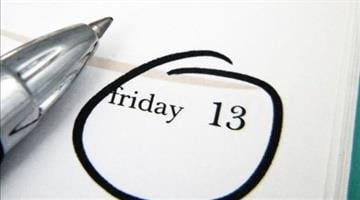 If you're finding yourself uneasy today -- perhaps practicing a bit more caution than usual -- you might suffer from paraskavedekatriaphobia, also known as friggatriskaidekaphobia. By Catherine Holland