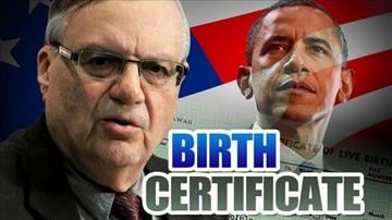 Arpaio to release findings in Obama birth certificate investigation today By Catherine Holland