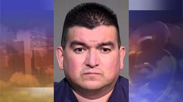 Roy Aguilar was arrested for felony theft. By Jennifer Thomas