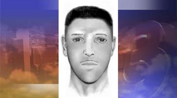 Composite sketch of suspect in the shooting death of Daniel Encinas Jr. By Catherine Holland