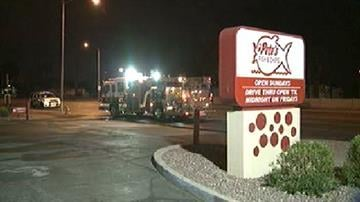 Firefighters were called out to the Pete's Fish & Chips at 27th Avenue and Van Buren Street at about 2 a.m. Friday. By Catherine Holland