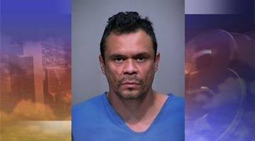 Victor Castro, 38, was apprehended Thursday for allegedly attacking 62-year-old Fred Castro and 61-year-old Lorene Castro. By Andrew Michalscheck